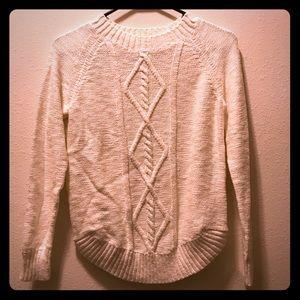 SO White Sweater